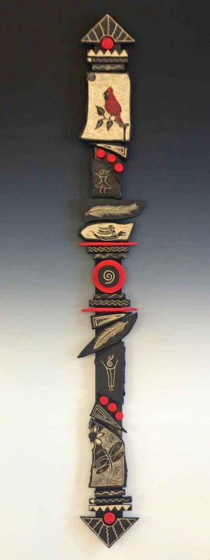 Living Life Boldly totem stick