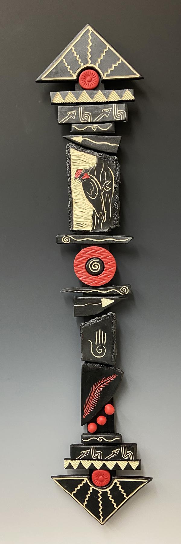 Champion of Freedom totem stick