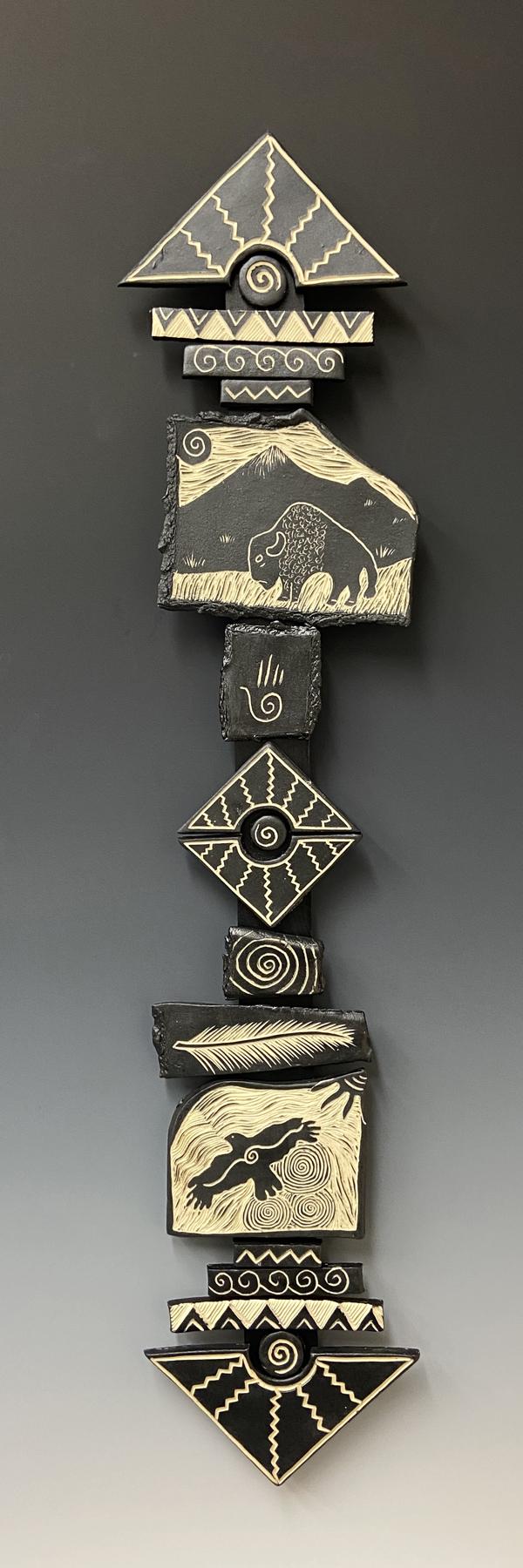 See Only Abundance totem stick